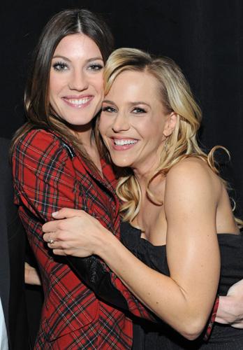Julie benz and lesbian
