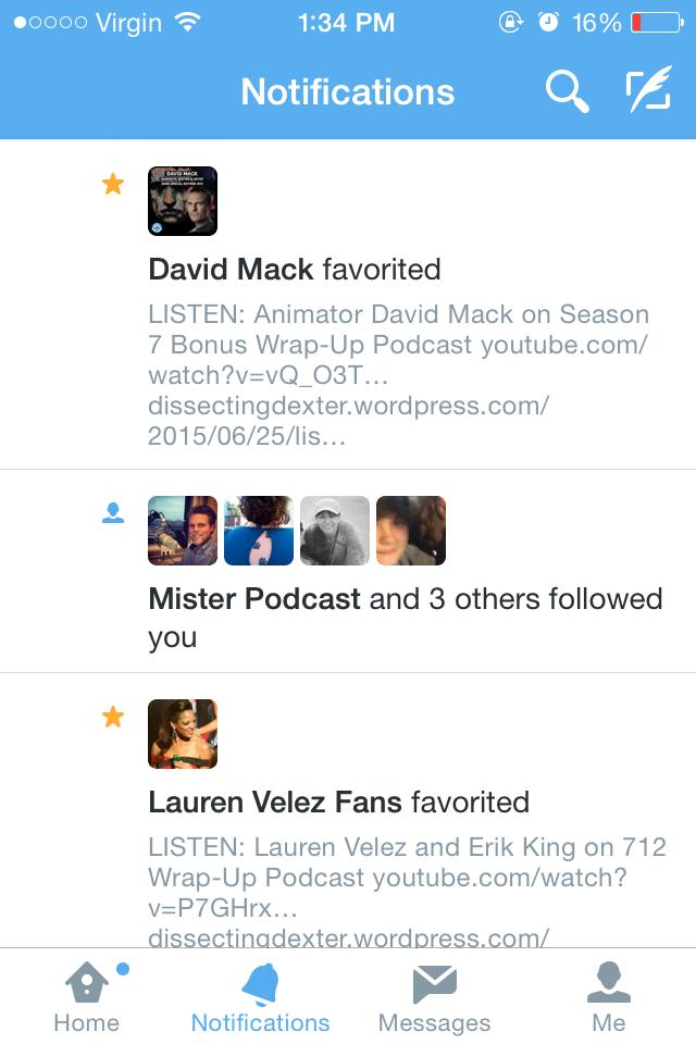 David Mack Twitter 1